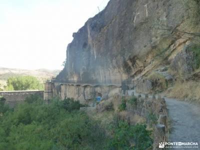 Atazar-Meandros Río Lozoya-Pontón de la Oliva-Senda Genaro GR300;hayedo tejera negra reservas los